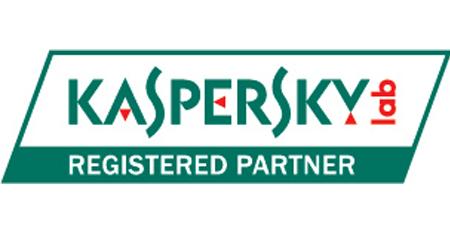 Award-winning security and anti-virus, Kaspersky Labs partner
